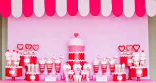 Red And White Striped Awning Anders Ruff Sweet Shoppe Pretty My Party