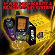 viper 5305v 2 way lcd vehicle car alarm keyless entry remote start