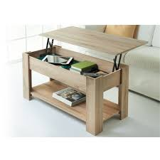 Oak Effect Computer Desk Theo Coffee Table Light Oak Coffee And Shelves