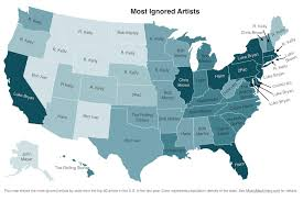 map r r dominates map of states most ignored artists spin
