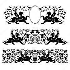 antique heraldic ornaments stock vector elakwasniewski 5044824