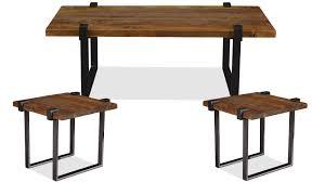 steel clamp coffee u0026 end tables gallery