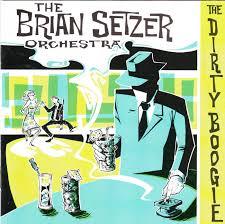 cd album the brian setzer orchestra the boogie