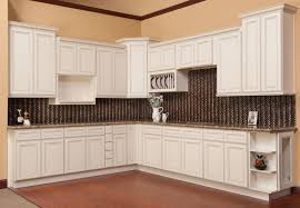 Antique Looking Kitchen Cabinets York White And Chocolate Shaker Kitchen Cabinets We Ship