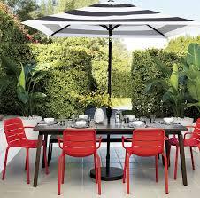 black and white striped patio umbrella home and garden decor