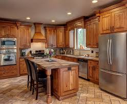 rustic kitchen cabinets lowes home design ideas