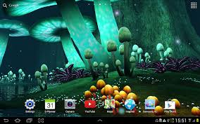 pretty halloween background magic mushroom live wallpaper android apps on google play