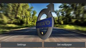 volvo logo down load a game 3d volvo logo live wallpaper for android
