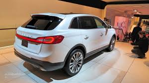 ford crossover 2016 2016 lincoln mkx makes world debut at naias it u0027s a glorified 2015