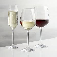 wine glasses nattie wine glasses crate and barrel