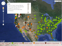 Map Of Mexico Coast by Nuke Pro West Coast Pelted With Radiation Again On Thanksgiving