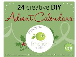 24 creative diy advent calendars limefish studio
