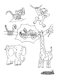 wonderful baby animals coloring pages jungle animal download