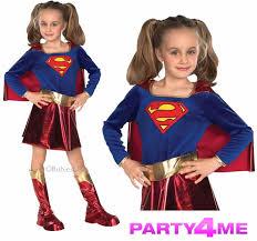 superhero girls fancy dress super hero costume 5 colours