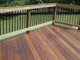 central ga contemporary deck railing archadeck of central ga