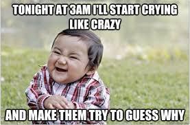 Meme Babies - evil baby meme reveals dark side of toddlers
