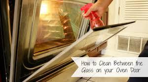 clean oven glass door how to clean between the glass on your oven door youtube