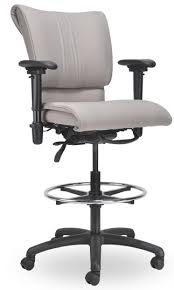 trend tall office chairs for standing desks 33 in office chair for