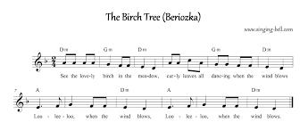 the birch tree beriozka free nursery rhymes