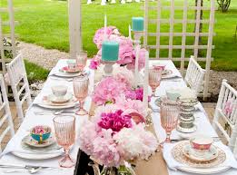tea party table tea party table setting creative party ideas