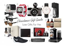 gift guide for him luxe more than adored