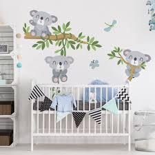 kinderzimmer wandtattoo kinderzimmer koala set