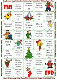 19 free esl christmas board game worksheets