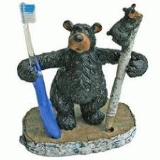 Bear Bathroom Accessories by All Sorts Of Black Bear Decor On This Website Log Cabin