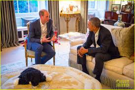 prince george wears stylish pajamas to meet the obamas photo