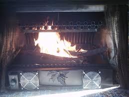 homemade fireplace blower home decorating interior design bath