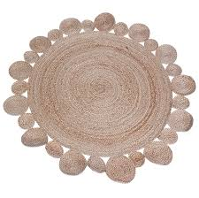 small round rug small fish pattern round carpet bedside cotton