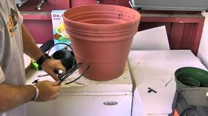 a cost effective self watering plant system youtube