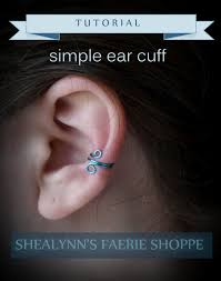 s ear cuffs simple ear cuff tutorial shealynn s faerie shoppe