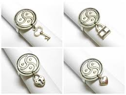 Jewelry Armoire With Lock And Key Triskele Symbol Ring With Choice Of Handcuff Lock Key Or