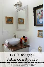 Inexpensive Bathroom Updates Bathroom Updates On A 500 Budget