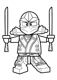 red ninjago coloring pages eson me