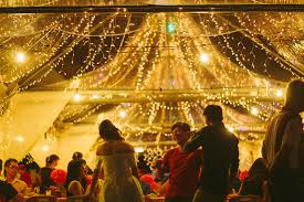 david tutera fairy lights vslc garden wedding transparent canopy with fairy lights