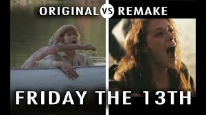 halloween background friday the 13 original vs remake friday the 13th youtube