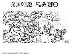 mario coloring pages book for boys gif super bebo pandco