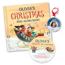 my sing along book songs with personalized ornament