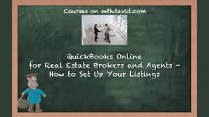 quickbooks tutorial real estate quickbooks online for real estate brokers and agents how to set up