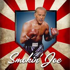 Joe Boxer Chair Awwww Big Man Donald Trump Thinks He Could Beat Joe Biden In A