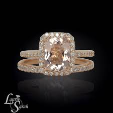 morganite engagement ring gold pink morganite halo ring gold morganite halo ring morganite