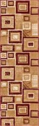 Brown Geometric Rug Geometric Rugs Variety Of Shapes Sizes Designs Well Woven