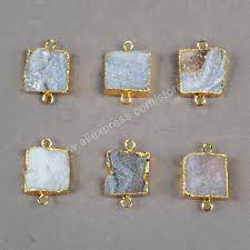aliexpress buy new arrival 10pcs silver gold aliexpress buy new arrival 10pcs square gold plated
