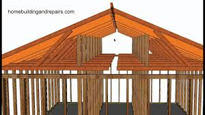 A Frame House Cost How To Convert Existing Truss Roof Flat Ceiling To Vaulted Ceiling