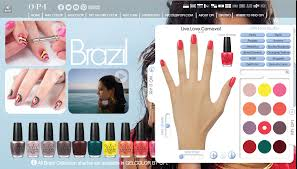 o p i website lets you try on nail colors virtually girls