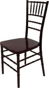 mahogany chiavari chair wedding rentals bob prodictions