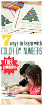 7 ways to use this free color by number printables no time for