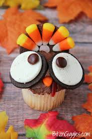 turkey shaped thanksgiving treats adorable not to make